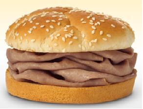 Arby's Regular Roast Beef Sandwich